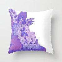 ducks Throw Pillows featuring Ducks by Brittany Bennett