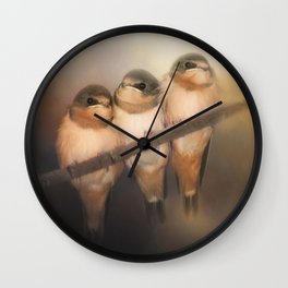 Hanging In The Balance Wall Clock