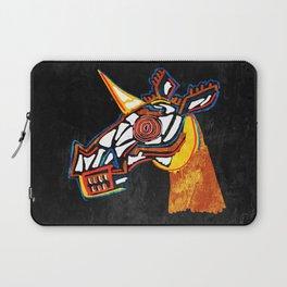 Basquiat Skull Unicorn Laptop Sleeve