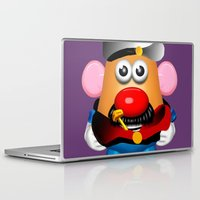 popeye Laptop & iPad Skins featuring Popeye Potato Head by tgronberg