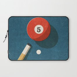 BILLIARDS / Ball 5 Laptop Sleeve