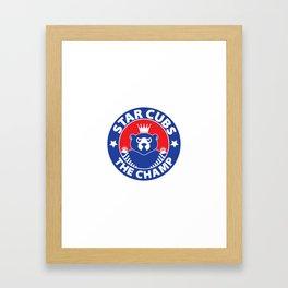 Star Cubs The Champ Framed Art Print