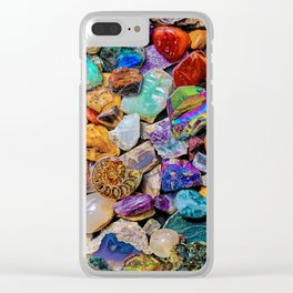 Rocks and Minerals, Geology Clear iPhone Case
