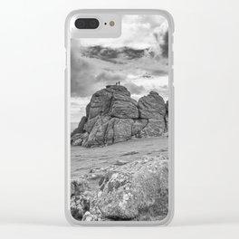 Haytor Tor Clear iPhone Case