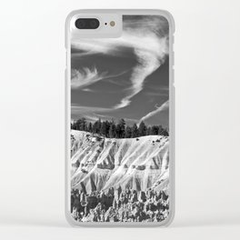 Cloudscape over Bryce Canyon Clear iPhone Case