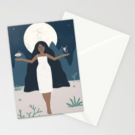 desert goddess Stationery Cards