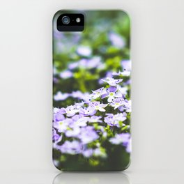 Veronica flowers iPhone Case