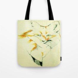 Fading Fox Tote Bag