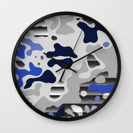 Camo 118 Wall Clock