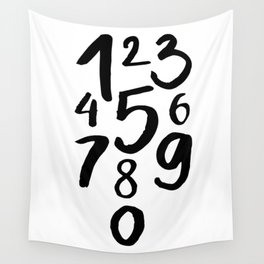 1 2 3 Wall Tapestry