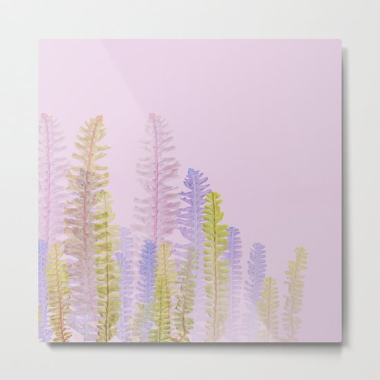 3d nature pink side Metal Print