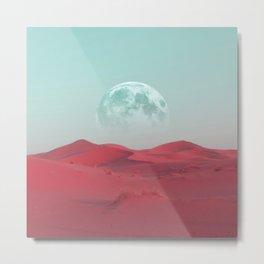 Pink Sahara Metal Print