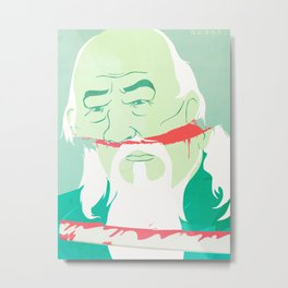 The Death of Master Zhang Metal Print