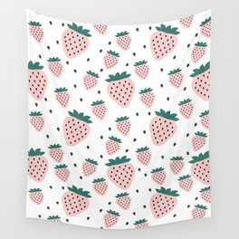 Strawberry Dream Wall Tapestry