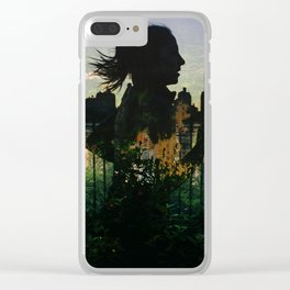 Central Park running Clear iPhone Case