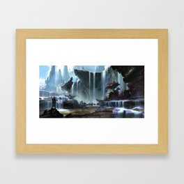 Spring Thaw Framed Art Print