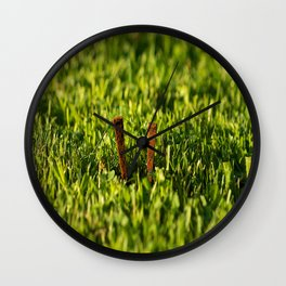 Les clous Wall Clock