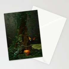 Halloween Night Stationery Cards