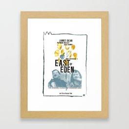 EAST OF EDEN// Framed Art Print