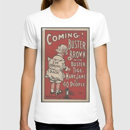 Old sign / Buster Brown T-shirt