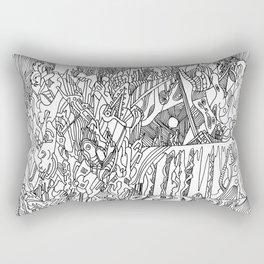 Enlightened Perception Rectangular Pillow