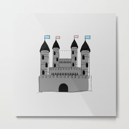 welcome traveller to house trans Metal Print