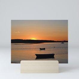 Peaceful Sunset • Pine Point Mini Art Print