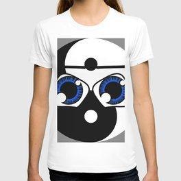 geeky yin yang T-shirt
