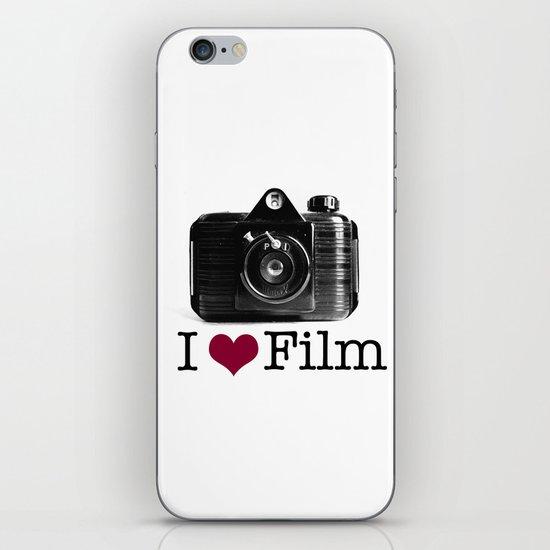 I ♥ Film iPhone & iPod Skin