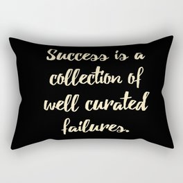 Success is a collection of Rectangular Pillow