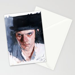 Malcolm McDowell Stationery Cards