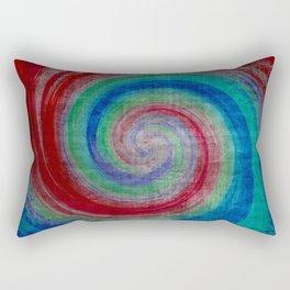 Colored Wave Rectangular Pillow