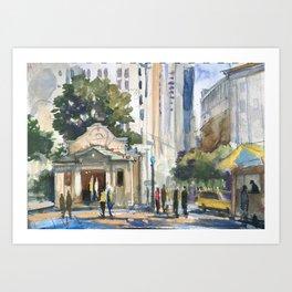 Bowling Green Manhattan Art Print
