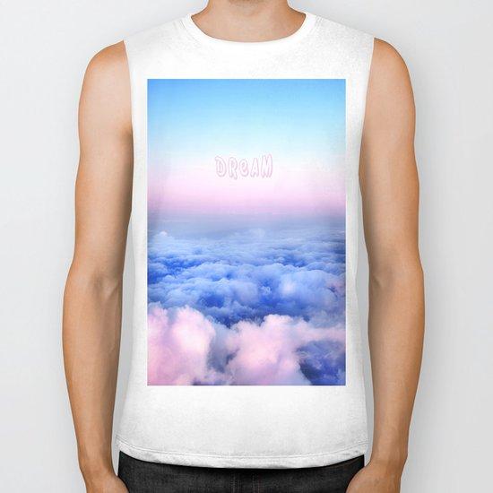 Dream Clouds Biker Tank