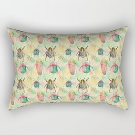 Walk like an Egiptian beetle Rectangular Pillow