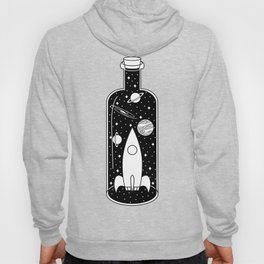 Space Ship in a Bottle Hoody