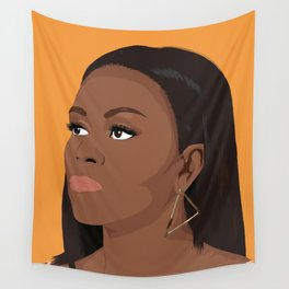 Michelle Obama Wall Tapestry