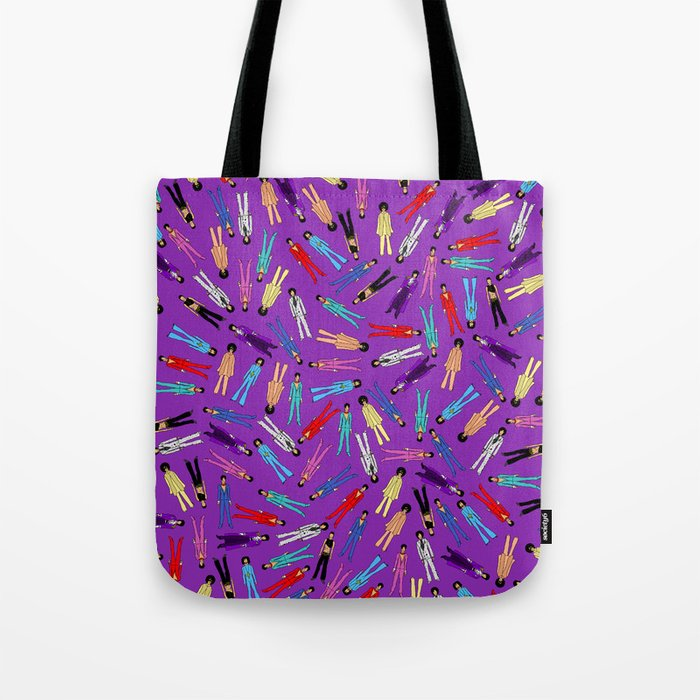 Purple Pattern 2 Tote Bag