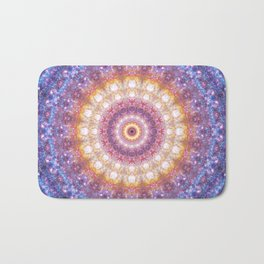 Cosmic Mandala Bath Mat
