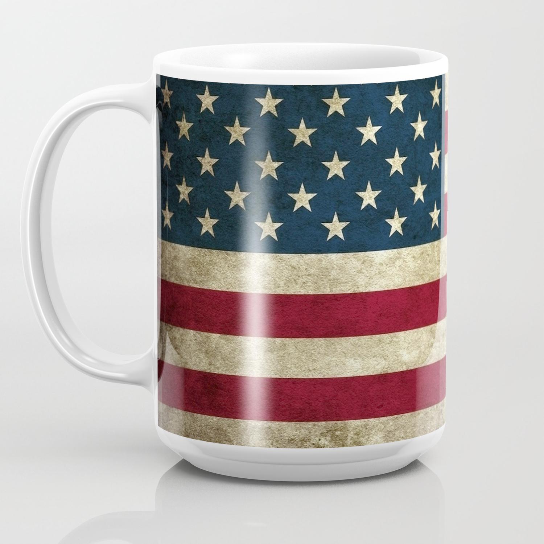 American Flag Coffee Mug By Loringlav74 Society6