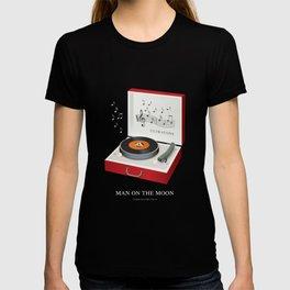 Man on the Moon - Alternative Movie Poster T-shirt