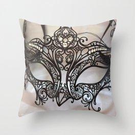 Carnival mask Throw Pillow