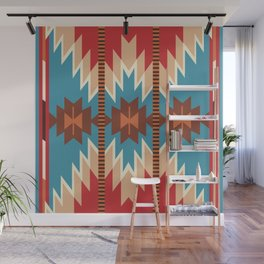 American Native Pattern No. 18 Wall Mural