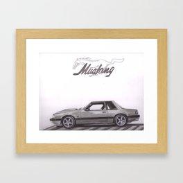 Mustang 1991 Framed Art Print