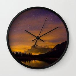 Fiery Rundle Wall Clock