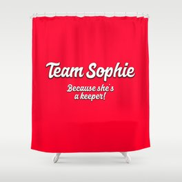 Team Sophie Shower Curtain
