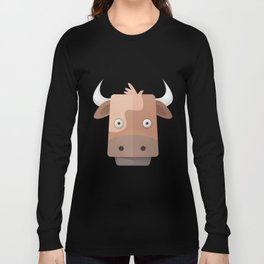The Cow of Videos Manguis Long Sleeve T-shirt