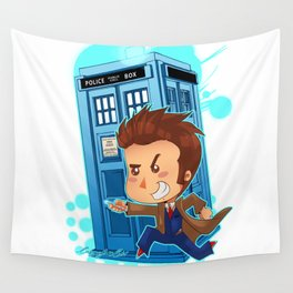 Allons-y!!!!! Wall Tapestry