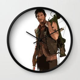 COLLECTION WALKING DEAD DARYL Wall Clock