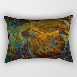 Copper Patina Corset Nightmare Rectangular Pillow